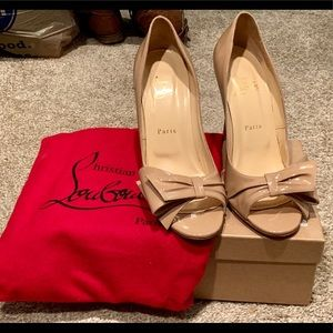 60a9c94cfd2 Women Christian Louboutin Wedding Shoes on Poshmark